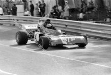 March 721X Niki Lauda Monaco GP 1972. action photo (a)